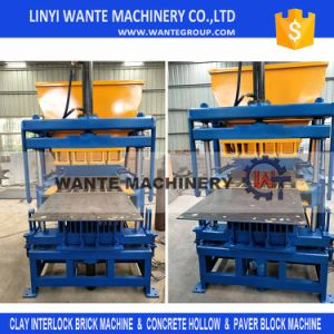 Wt4-10 New Model Interlock Clay Brick Making Machine pictures & photos
