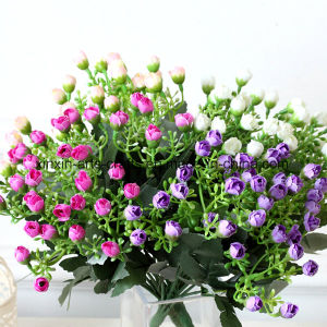 Fake Artificial Flower Aglaia Odorata Lour Flower Bouquet with 6branches&36buds