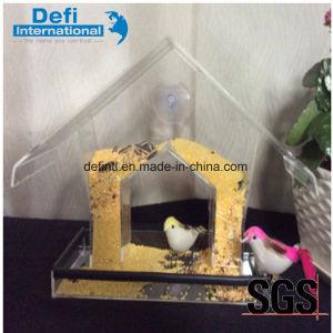 New Design Acrylic Window Bird Feeder pictures & photos