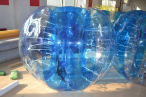 Blue Color TPU Air Tight Bubble Ball for Playground Games pictures & photos