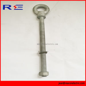 Galvanized Shoulder Eye Bolt for Pole Line Hardware pictures & photos