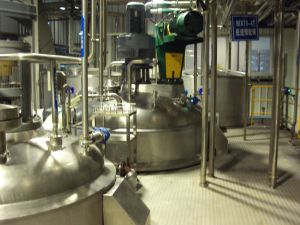 Automatic Feeding and Process Control Liquid Detergent Plant pictures & photos