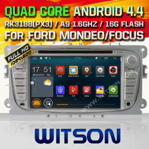 Witson Android 5.1 Car DVD for Ford S-Max (2008-2011) (W2-F9457FS) pictures & photos