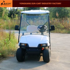 2 Passenger Ce Approved Electric Golf Cart pictures & photos