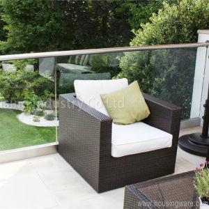 U_Channel Profile Glass Balustrade/Railing for Balcony / Deck pictures & photos