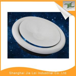 White Color Plastic Disc Valve Air Diffuser for HVAC System pictures & photos