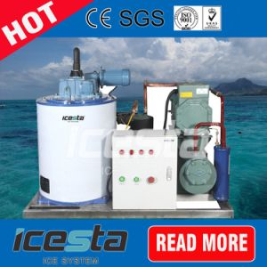 Icesta Marine Using Seawater Flake Ice Machine pictures & photos