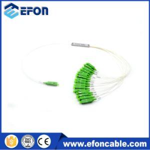 Steel Tube PLC Splitter with Sc APC Connector PLC 1 16 Fiber Optic Splitter pictures & photos
