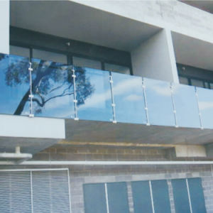 Stainless Steel Long Useful Life Period Fixed Glass Balustrade Railing pictures & photos