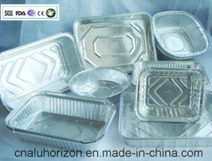 Oil Free and High Quality Aluminum Foil Container pictures & photos