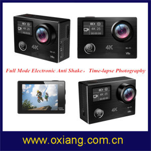 Anti Shake Wfi Sport Camera 4k Action Camera with Remote Control pictures & photos
