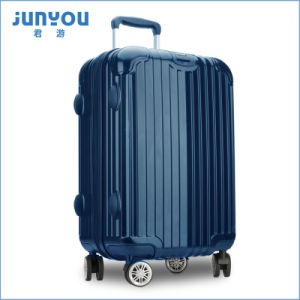 High Quality ABS+PC Four Wheels Luggage pictures & photos