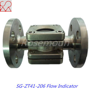 Tianhe Flanged Oil Flow Indicator Sight Glass pictures & photos