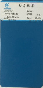Jm50541g80 Blue Powder Coating Powder Paint pictures & photos