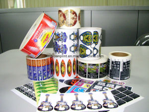 Waterproof Self Adhesive Sticker with Printing (JHXY-AS0001) pictures & photos