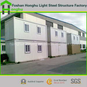 CE/ISO Certificated Container House Prefabricated House with 2 Storey pictures & photos