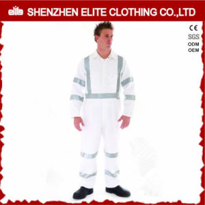 Custom Hospital White Reflective Safety Cotton Workwear pictures & photos