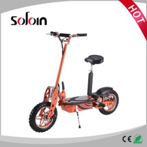 500W 36V Brushless Motor Folding Electric Scooter (SZE500S-2) pictures & photos