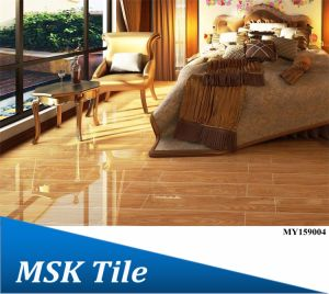 150X900 Full Polished Glazed Wook-Look Floor Tile My159004 pictures & photos