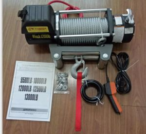 4WD Electric Winch 12000lbs 12VDC, Chima Winch pictures & photos