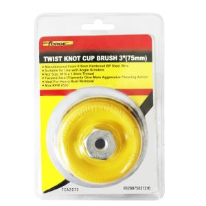 """Cleaning Tools Twist Knot Cup Brush 3"""" (75mm) Accessories pictures & photos"""