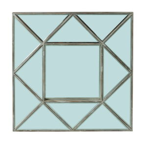 Triangle Wooden Decorative Mirror Frame in Natural Wood Finish pictures & photos