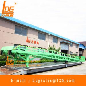 15 Ton Mobile Hydraulic Loading Dock Ramp (DCQY15-0.8)