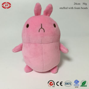 Stuffed Foam Beads Plush Soft Bunny Keychain with Sucker Toy pictures & photos