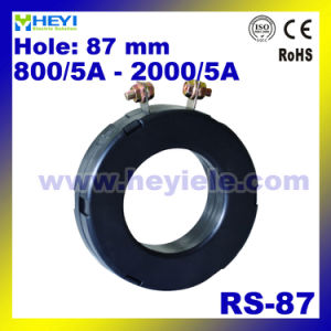 Current Transformer Manufacturer RS-87 Protection Current Transformer 87mm Inner Hole AC Current Sensor pictures & photos