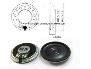 30mm 4-32ohm 0.3-1.5W Mylar Speaker pictures & photos