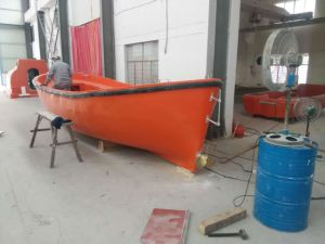 GRP Open Life Boat with Lifeboat Davit CCS/BV/ABS/Ec Approved pictures & photos