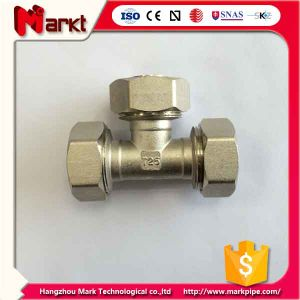 Nickled Plated Brass Compression Fitting pictures & photos