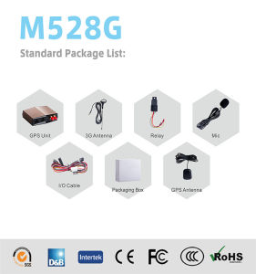 Vehicle GPS 3G Device with GPS Antenna M528g pictures & photos