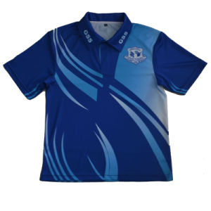 Wholesale Custom School Shirt/Sublimation School Uniform