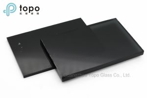 4mm-10mm Colored Black Construction Float Glass (C-B) pictures & photos