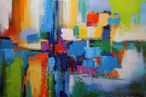 Abstract Oil Painting Reproduction with Acrylic pictures & photos