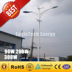 200W Wind Turbine Solar Hybrid Streetlight Wind Driven Generator Wind Mill Wind Generator Turbine pictures & photos