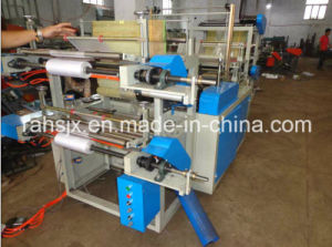 High Speed Servo Motor Garbage Bag Cutting Machine pictures & photos