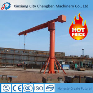 Smooth Traveling Fixed Pillar Jib Crane Supplier with One Leg pictures & photos