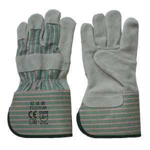 12 Inch Anti Cutting Safety Leather Working Gloves From Gaozhou Manufacturer pictures & photos