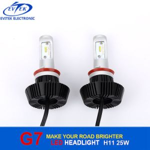 4000lm 25W 6000k Philips LED Headlight Kit H11 Low Beam Bulbs pictures & photos