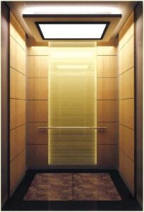 Glass Hairline Stainless Steel Passenger Elevator (ALD-KC027) pictures & photos