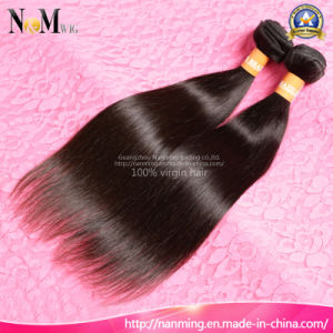 Wholesale High Quality Virgin Hair Brazilian/Malaysian/Peruvian/Indian Straight Hair Extension pictures & photos