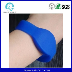 Logo Printed ISO15693 UHF ID Tracking Slave Bracelet pictures & photos