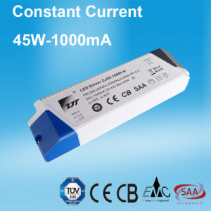 45W 1A Constant Current LED Power Supply with Ce CB