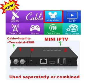 H2.65 Android Set Top Box with Almost 10, 000 Channels pictures & photos