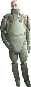 Military Green Riot Body Arimor Suit pictures & photos