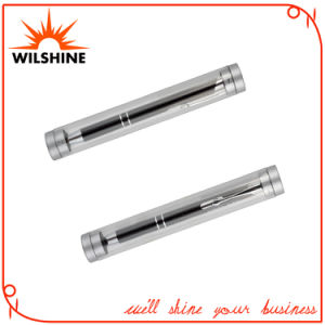 Cheap Plastic Transparent Round Shape Pen Tube (BX004) pictures & photos