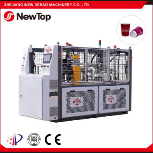 Debao-90t High Speed Paper Cup Sleeve Machine pictures & photos