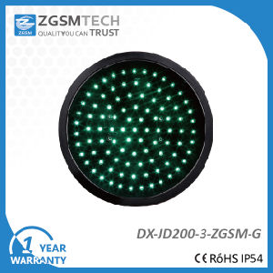 200mm Green Round Aspect LED Signal Modules